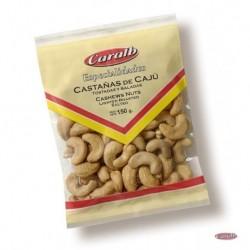 Castañas de Cajú Tost. y Sal. CAJA x 25 x 100grs