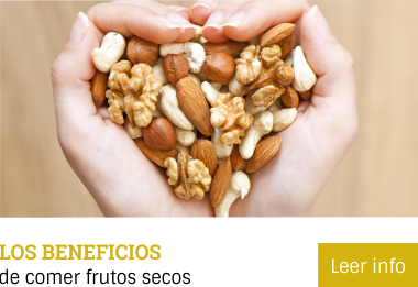 Los Beneficios de comer frutos secos