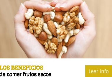 Los Beneficios de comer frutos secos